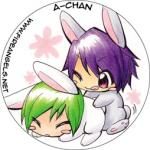 Button: Yaoi Bunnies