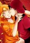 Postkarte: Cola küsst Orange