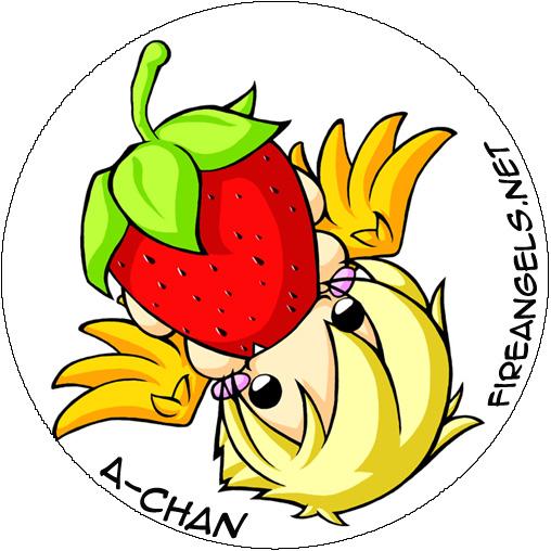Button: Hou Erdbeere