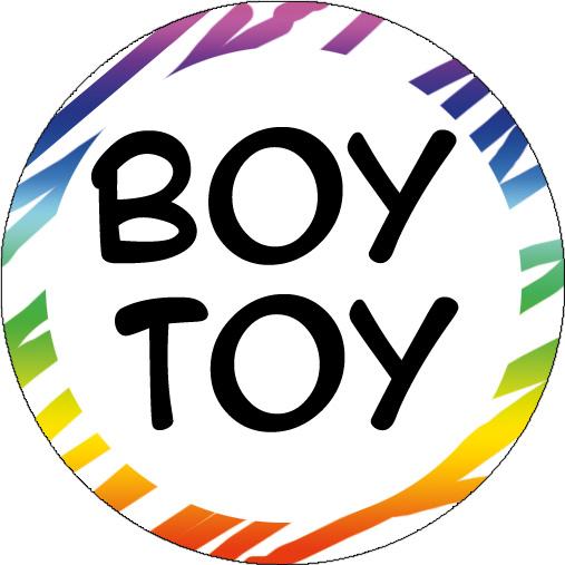 Button: Boy Toy