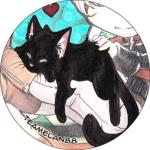 Button: Kitty Kraul