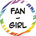 Button: Fan-Girl