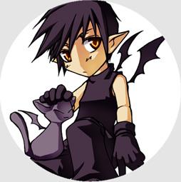 Button: Demoncat