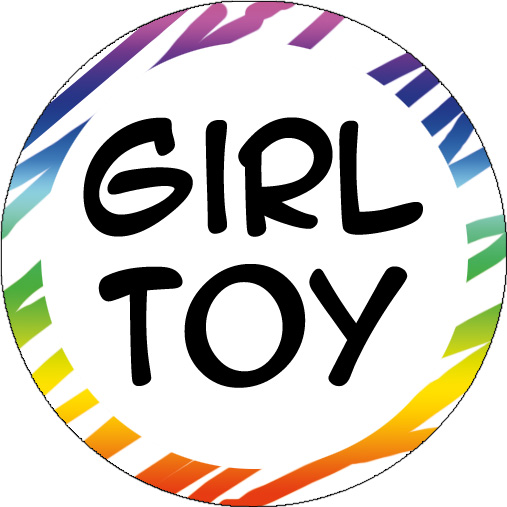 Button: Girl Toy